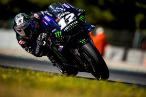 Vinales tops the timesheets in one-day Catalunya MotoGP test