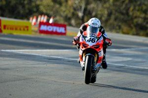 New best lap seals Jones Morgan Park ASBK pole position