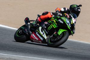 Supercross legend McGrath samples Rea's ZX-10RR at Laguna Seca