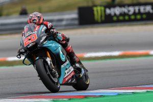 Quartararo quickest following Friday MotoGP practice at Brno