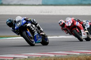 Podium 'out of reach' for Parkes in challenging Sepang ARRC outing