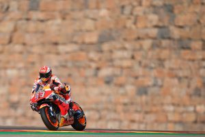 Marquez tops Friday practice timesheets at Aragon