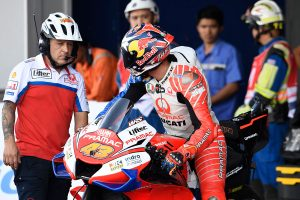 Wrong button a costly error for Miller at start of Buriram race
