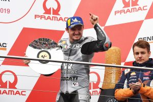 Phillip Island MotoGP podium like a win for home hero Miller