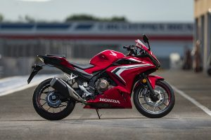 Sportier CBR500R now available