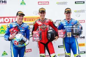 Phillip Island ASBK round sweep for dominant Pirelli riders
