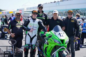 Front row and top five finish for Walters at Phillip Island's penultimate ASBK round