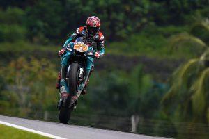Record lap seals Quartararo Malaysian MotoGP pole