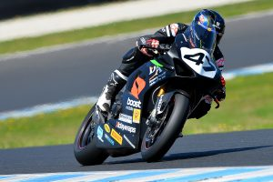 Maxwell goes fastest on day one of ASBK testing at Phillip Island