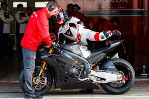 Haslam still testing fundamental components on new Fireblade