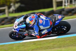 Razgatlioglu tops the timesheets on day one of Phillip WorldSBK test