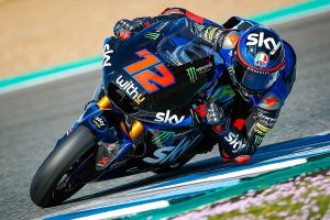 Second day of Jerez Moto2 test led by Bezzecchi