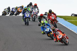 First victory of ASBK season for Maxwell in Ducati debut