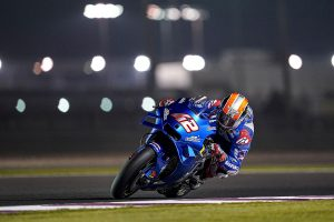 Rins leads Suzuki 1-2 on opening day of Qatar test