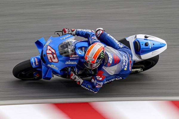 Rins re-signs with Team Suzuki Ecstar through 2022