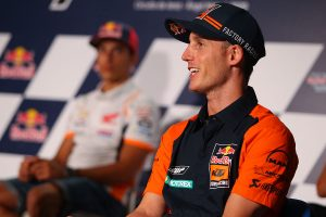Marquez sets Espargaro podium target as HRC teammate