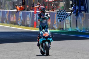 Yamaha podium sweep led by Quartararo in Andalucia GP