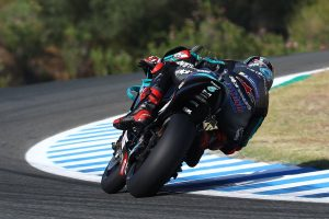 Record lap seals Quartararo Jerez MotoGP pole position