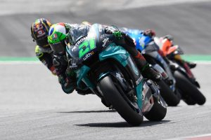 Zarco and Morbidelli at odds over scary high-speed clash