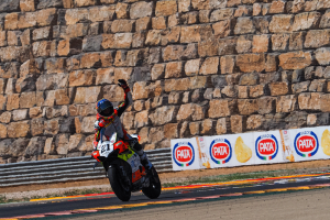 Rinaldi breaks through in Teruel for stunning maiden victory