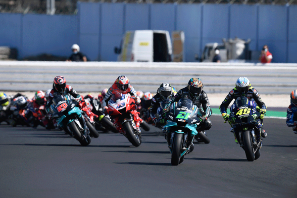 Morbidelli scores emphatic maiden victory at Misano
